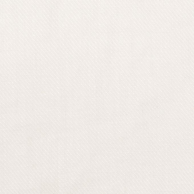 リネン×無地(オフホワイト)×サージ_全22色 イメージ1