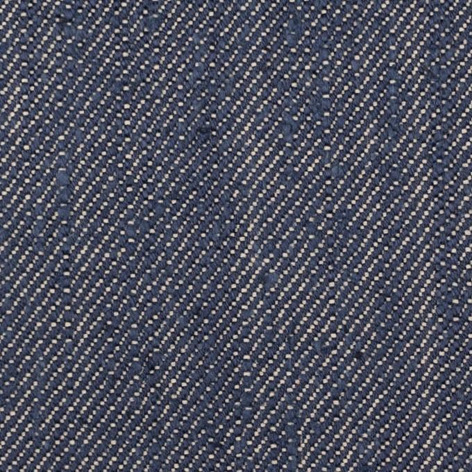 レーヨン&コットン混×無地(スカイブルー)×デニム(10oz) イメージ1