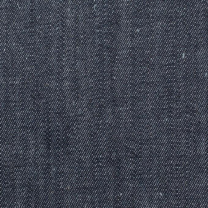 リネン&ポリウレタン×無地(インディゴ)×デニムストレッチ(8oz) イメージ1