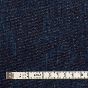 コットン×フラワー(インディゴ)×デニム(10.5oz) サムネイル4