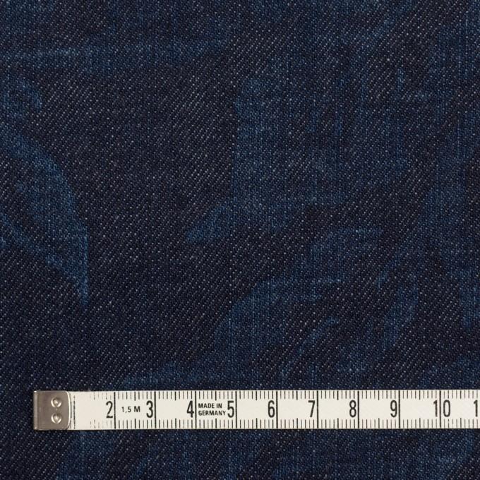 コットン×フラワー(インディゴ)×デニム(10.5oz) イメージ4