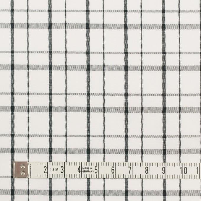 コットン×チェック(オフホワイト)×ブロード_全2色 イメージ4