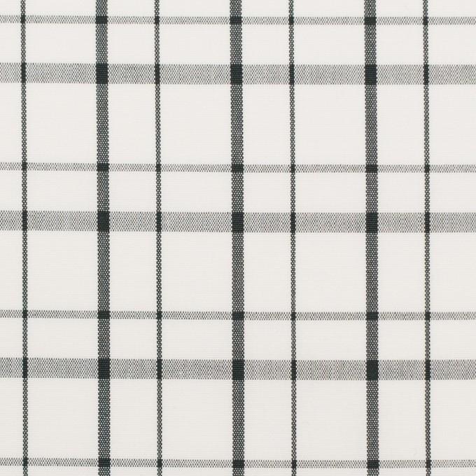 コットン×チェック(オフホワイト)×ブロード_全2色 イメージ1