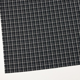コットン×チェック(ブラック)×ブロード_全2色 サムネイル2