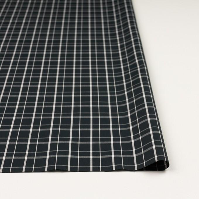 コットン×チェック(ブラック)×ブロード_全2色 イメージ3