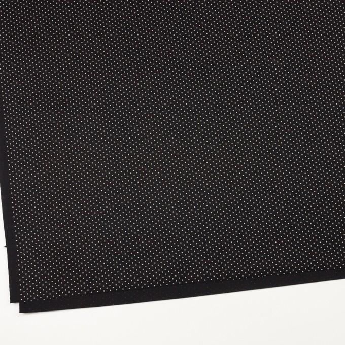 コットン×ドット(ブラック)×ポプリン イメージ2