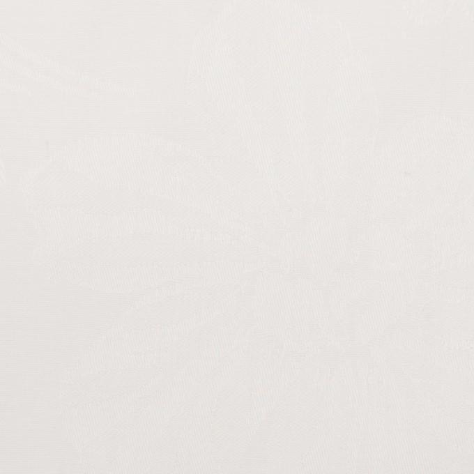 コットン×フラワー(オフホワイト)×ローンジャガード イメージ1
