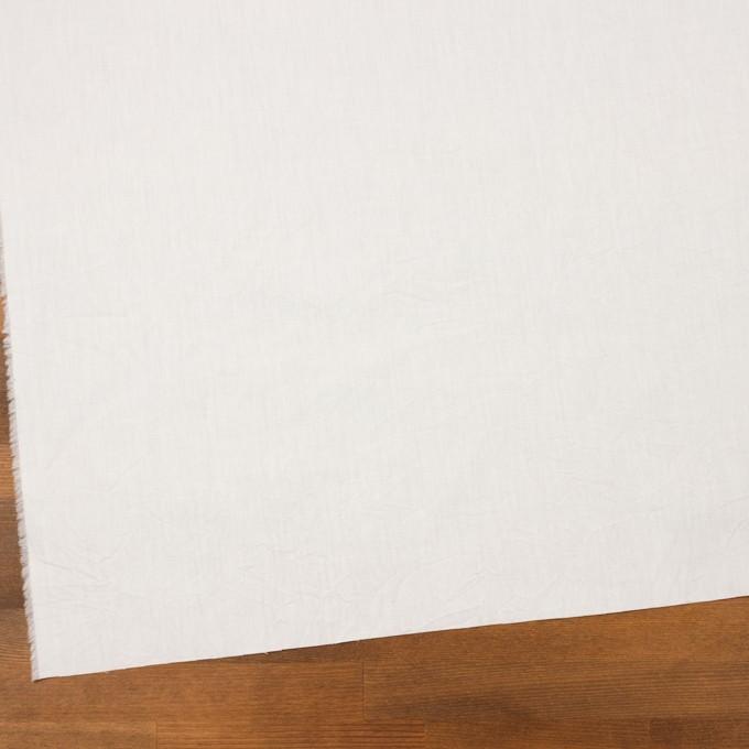コットン×無地(オフホワイト)×ブロードワッシャー イメージ2