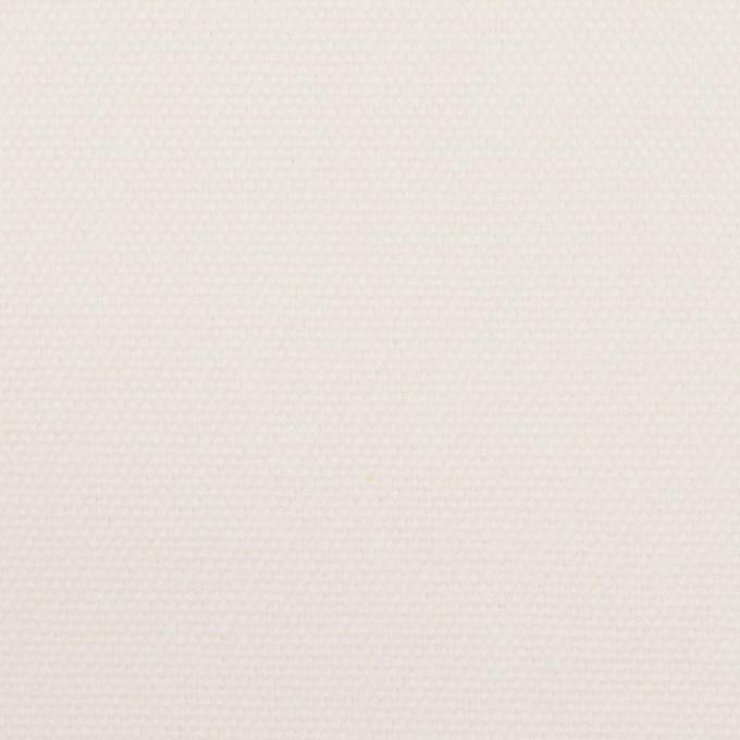 コットン×無地(ミルキーホワイト)×8号帆布 イメージ1