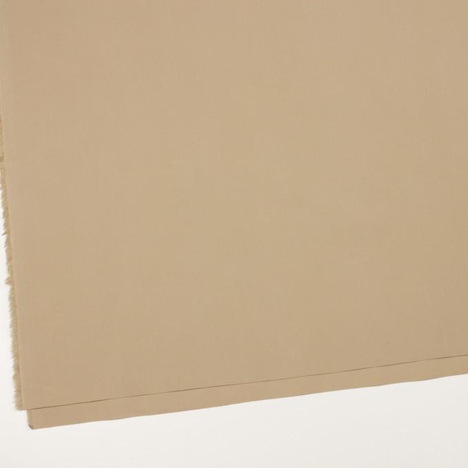コットン&ポリウレタン×無地(ベージュ)×ブロードストレッチ_全5色 イメージ2