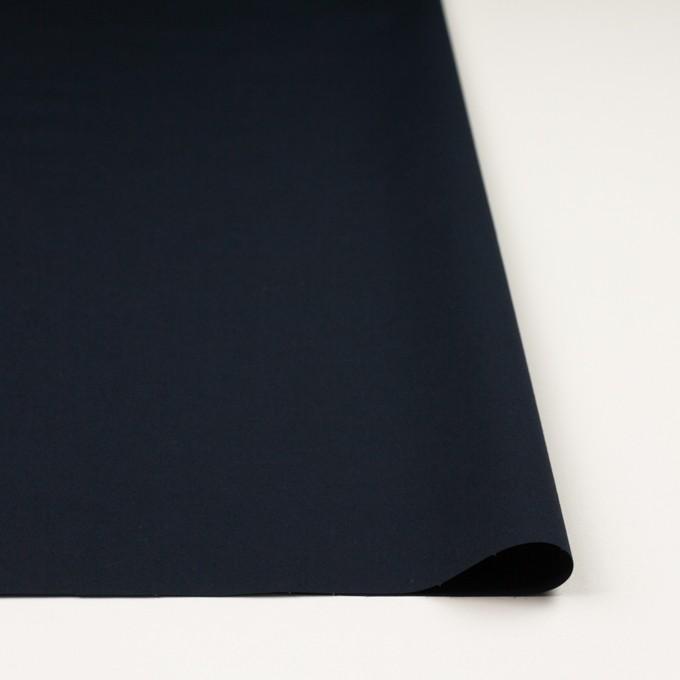 コットン&ポリウレタン×無地(ダークネイビー)×ブロードストレッチ_全5色 イメージ3