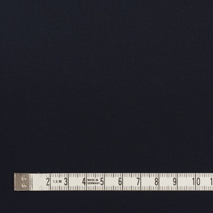 コットン&ポリウレタン×無地(ダークネイビー)×ブロードストレッチ_全5色 イメージ4