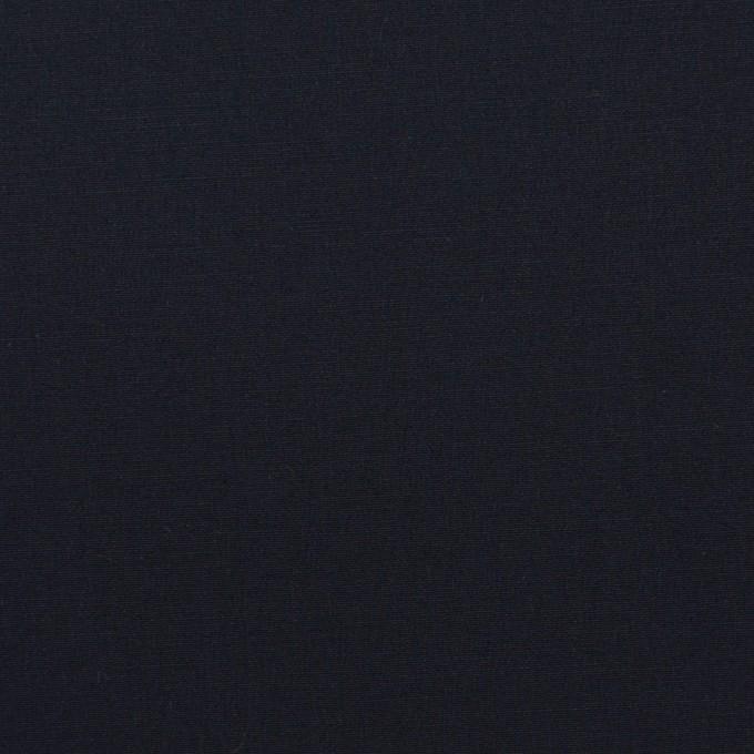 コットン&ポリウレタン×無地(ダークネイビー)×ブロードストレッチ_全5色 イメージ1
