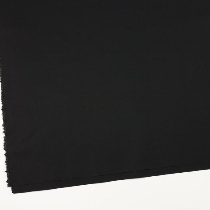 コットン&ポリウレタン×無地(ブラック)×ブロードストレッチ_全5色 イメージ2