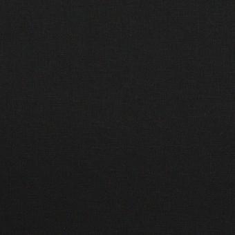 コットン&ポリウレタン×無地(ブラック)×ブロードストレッチ_全5色