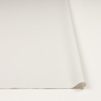 コットン&ポリエステル混×ストライプ(オフホワイト)×ブロードストレッチ刺し子_イタリア製 サムネイル3