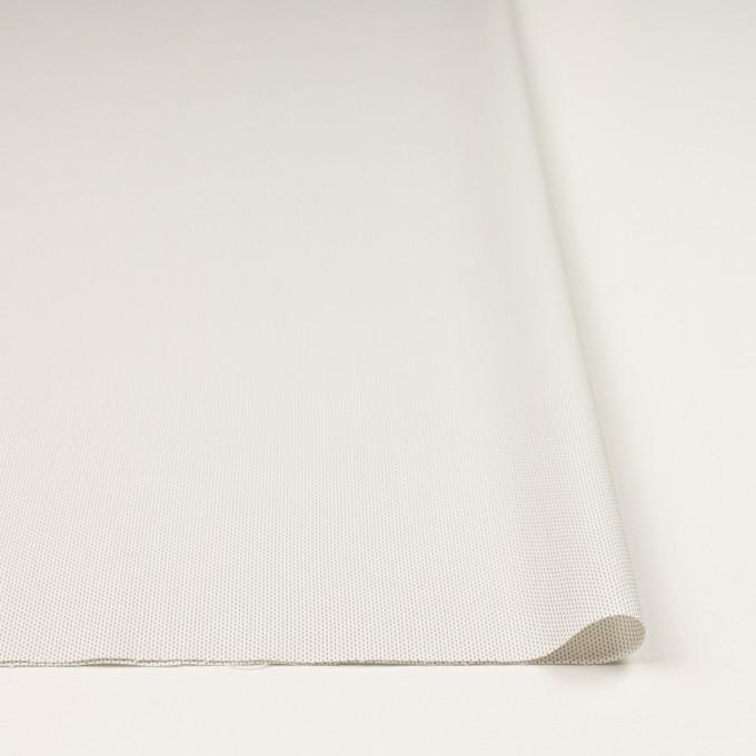 コットン&ポリエステル混×ストライプ(オフホワイト)×ブロードストレッチ刺し子_イタリア製 イメージ3