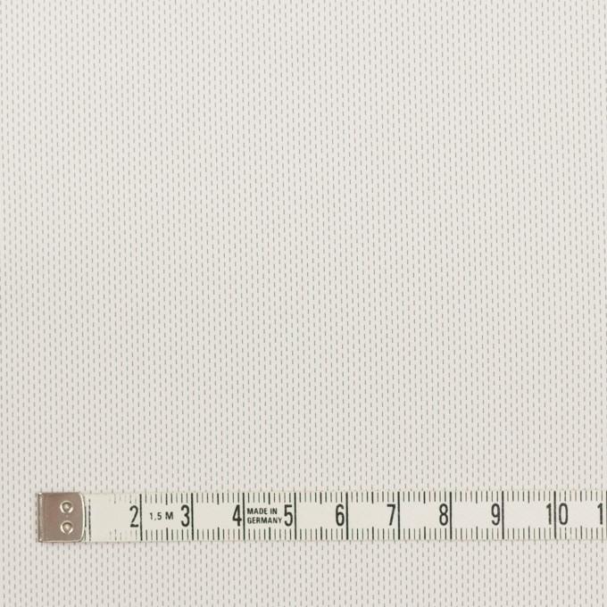 コットン&ポリエステル混×ストライプ(オフホワイト)×ブロードストレッチ刺し子_イタリア製 イメージ4