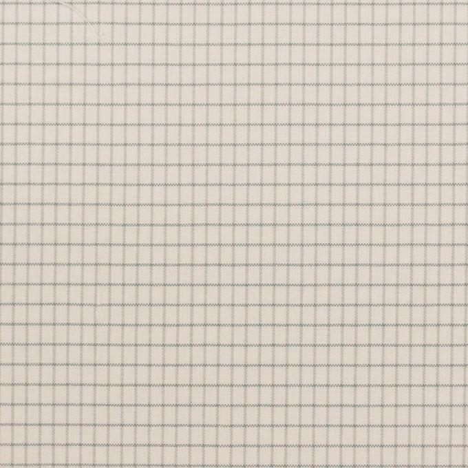 コットン&ナイロン×チェック(バニラ)×ブロード_イタリア製 イメージ1
