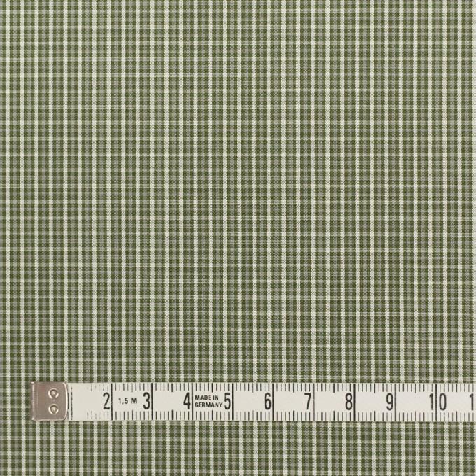 コットン×チェック(アイビーグリーン)×ブロード_イタリア製 イメージ4
