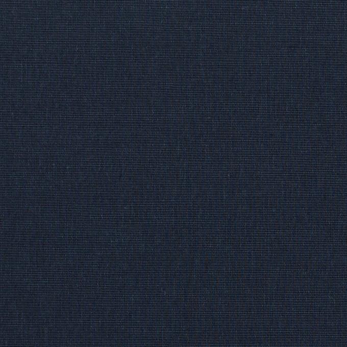 コットン&ナイロン×無地(ネイビー)×ポプリン イメージ1