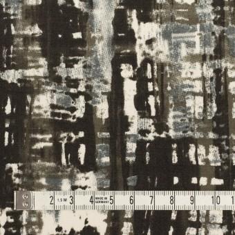 コットン&ポリウレタン×ペイント(チャコール)×ポプリンストレッチ_全2色 サムネイル3