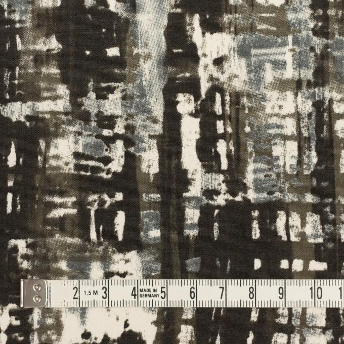 コットン&ポリウレタン×ペイント(チャコール)×ポプリンストレッチ_全2色 イメージ3
