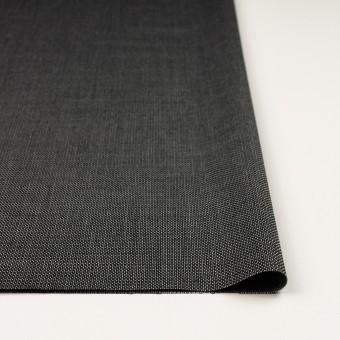 ウール&レーヨン×ミックス(ブラック)×かわり織 サムネイル3