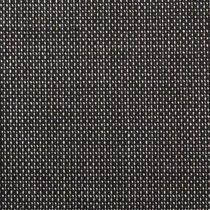 ウール&レーヨン×ミックス(ブラック)×かわり織 イメージ1