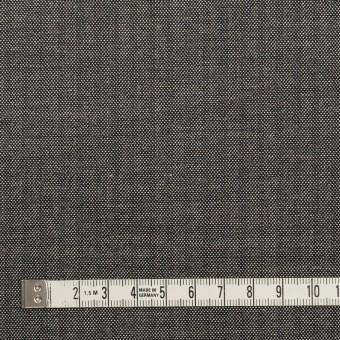 ウール&レーヨン混×無地(チャコール)×ポプリンストレッチ サムネイル4