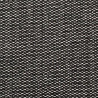 ウール&レーヨン混×無地(チャコール)×ポプリンストレッチ サムネイル1