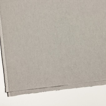 コットン×無地(ライトグレー)×オックスフォード_全2色_イタリア製 サムネイル2