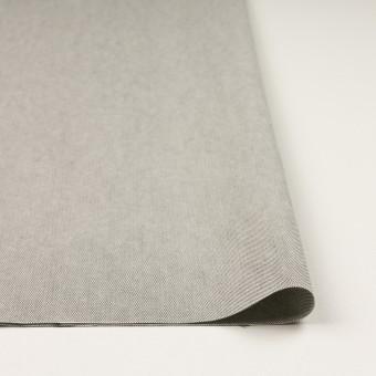 コットン×無地(ライトグレー)×オックスフォード_全2色_イタリア製 サムネイル3