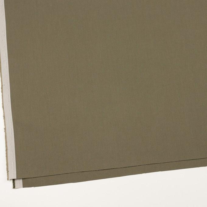 コットン×無地(カーキ)×二重織_全3色_イタリア製 イメージ2