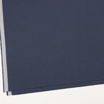 コットン×無地(スレートネイビー)×二重織_全3色_イタリア製 サムネイル2