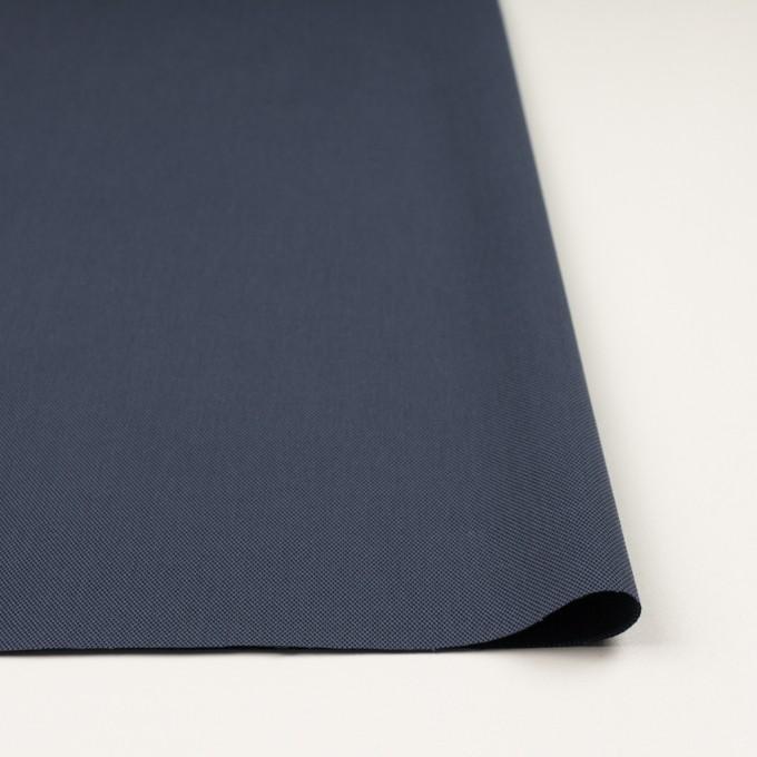 コットン×無地(スレートネイビー)×二重織_全3色_イタリア製 イメージ3