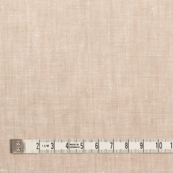 リネン×無地(ベージュ)×薄キャンバス_全6色 イメージ4