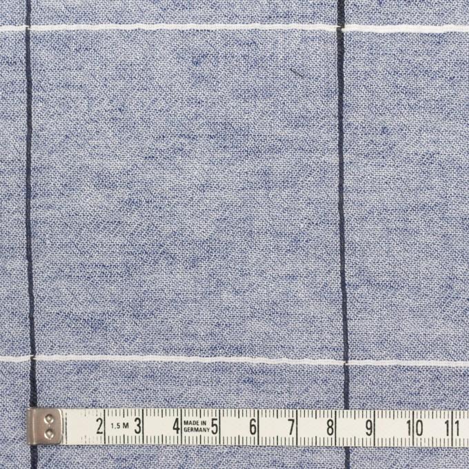 コットン×チェック(ネイビー)×シャンブレー・ガーゼ イメージ4