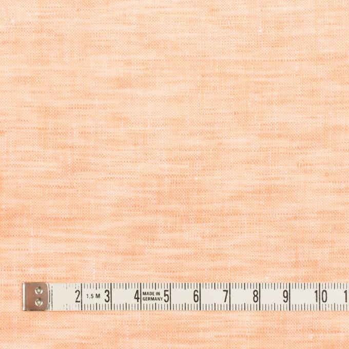 リネン×無地(オレンジ)×薄キャンバス_全4色 イメージ4
