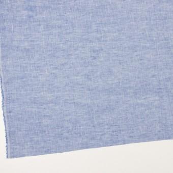 リネン×無地(ブルー)×薄キャンバス_全4色 サムネイル2