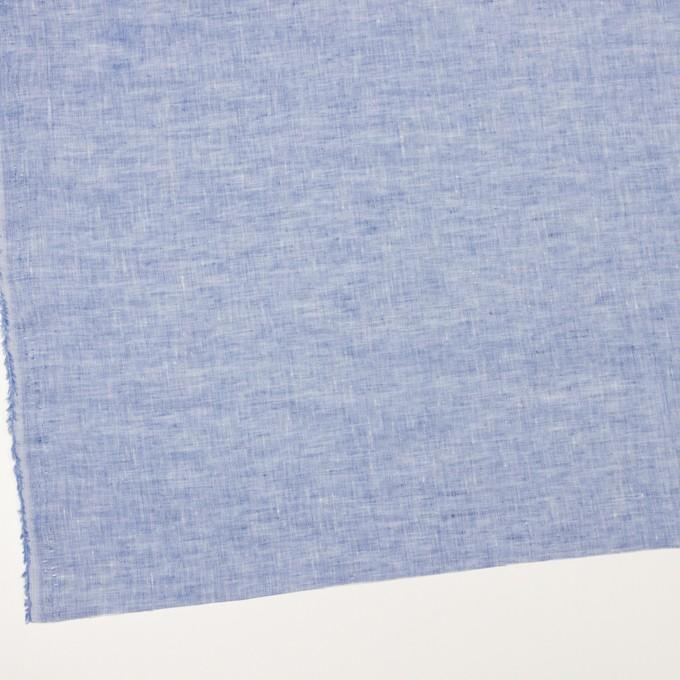 リネン×無地(ブルー)×薄キャンバス_全4色 イメージ2