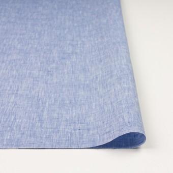 リネン×無地(ブルー)×薄キャンバス_全4色 サムネイル3