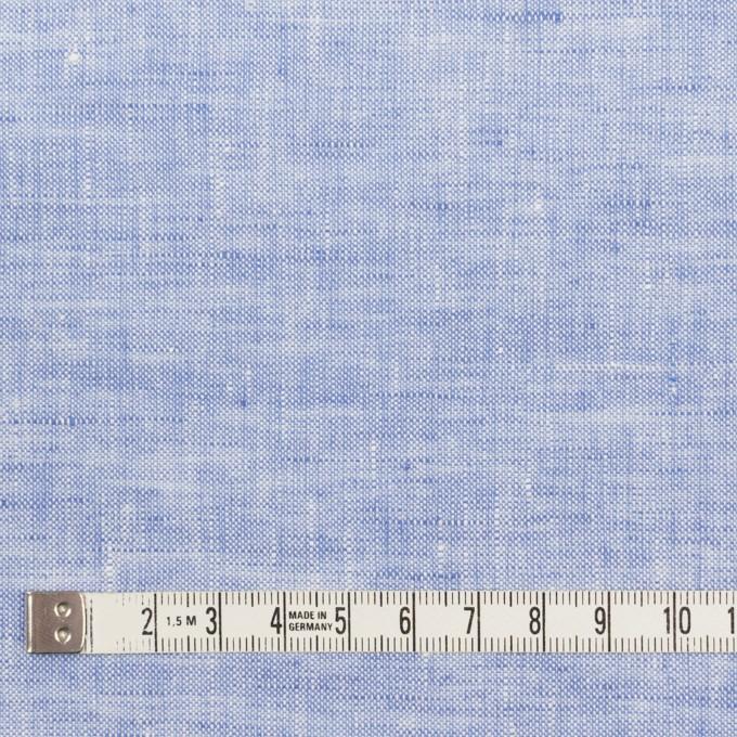 リネン×無地(ブルー)×薄キャンバス_全4色 イメージ4