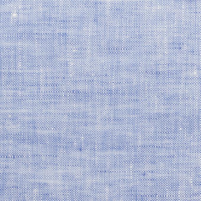 リネン×無地(ブルー)×薄キャンバス_全4色 イメージ1