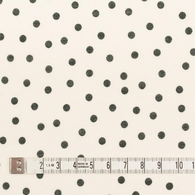 コットン×水玉(キナリ)×ボイル_全3色 イメージ4