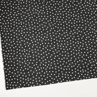 コットン×水玉(ブラック)×ボイル_全3色 サムネイル2