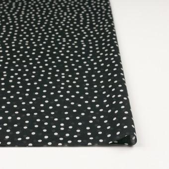 コットン×水玉(ブラック)×ボイル_全3色 サムネイル3