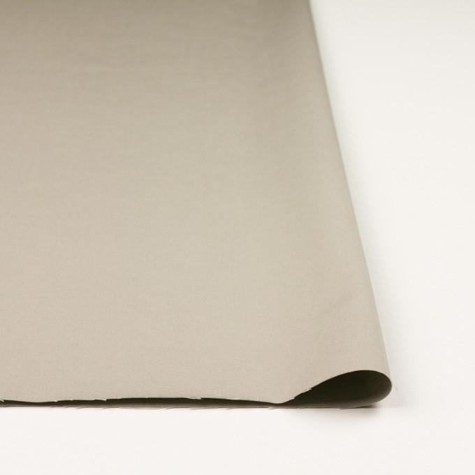 コットン×無地(カーキグレー)×ギャバジン_全3色_イタリア製 イメージ3