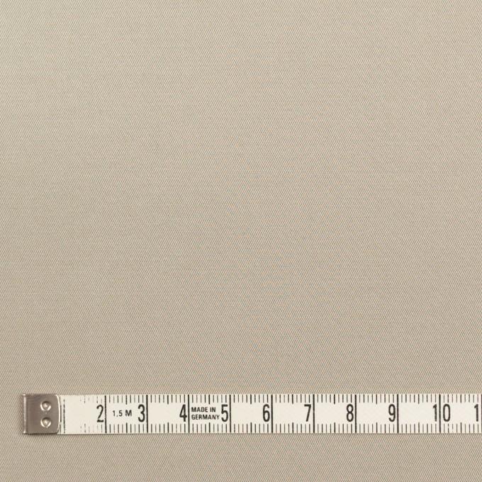 コットン×無地(カーキグレー)×ギャバジン_全3色_イタリア製 イメージ4