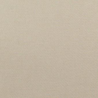 コットン×無地(カーキグレー)×ギャバジン_全3色_イタリア製